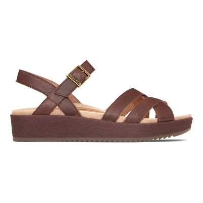 Violet Platform Sandal