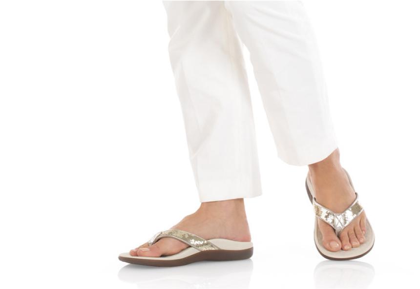 Tide Sequins Orthotic Sandals
