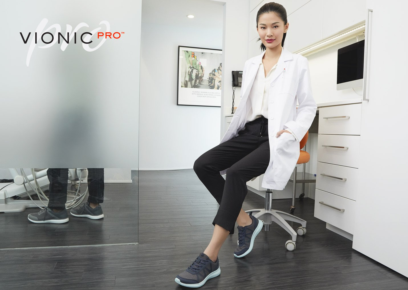 View Vionic Pro Work Shoes