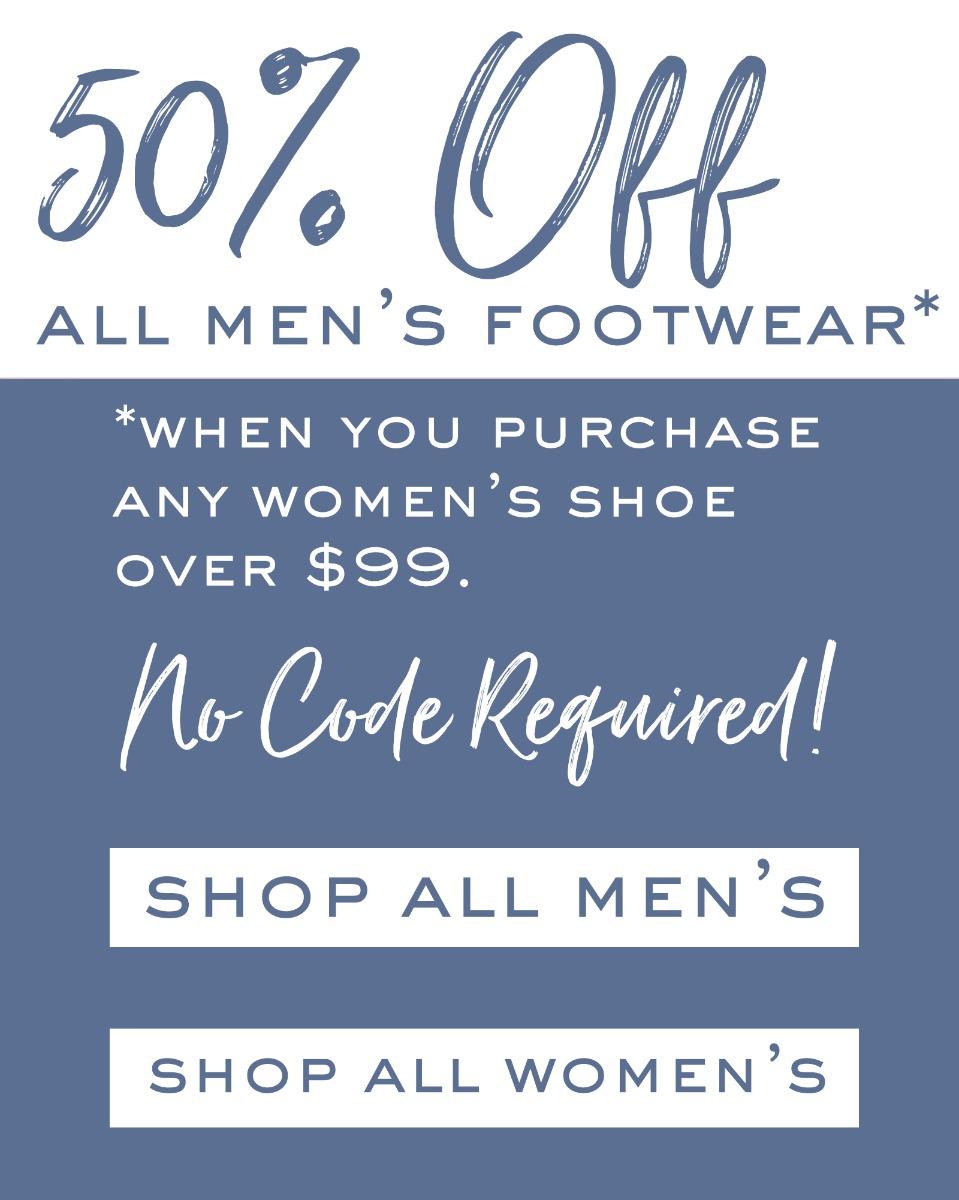 Half Off Sale Men's